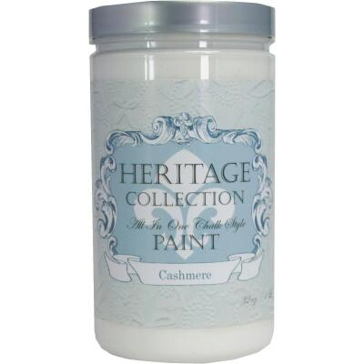 Heirloom Traditions Heritage Collection All-In-One Chalk Style Paint, Cashmere, 1 Qt.