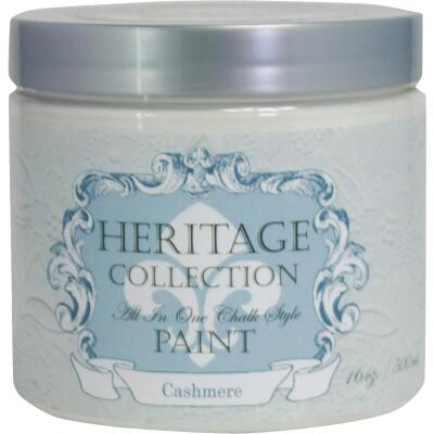 Heirloom Traditions Heritage Collection All-In-One Chalk Style Paint, Cashmere, 1 Pt.