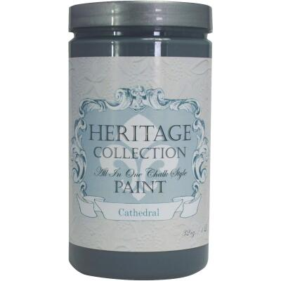 Heirloom Traditions Heritage Collection All-In-One Chalk Style Paint, Cathedral, 1 Qt.