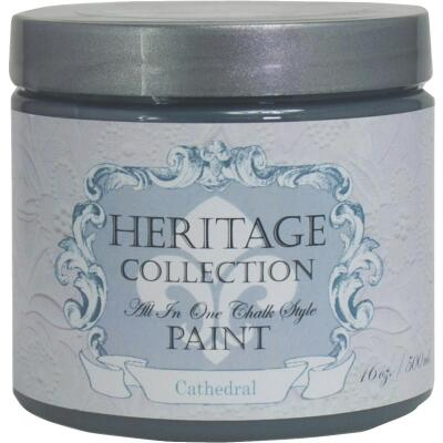 Heirloom Traditions Heritage Collection All-In-One Chalk Style Paint, Cathedral, 1 Pt.