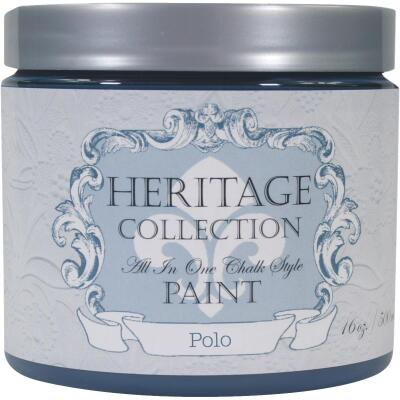 Heirloom Traditions Heritage Collection All-In-One Chalk Style Paint, Polo, 1 Pt.