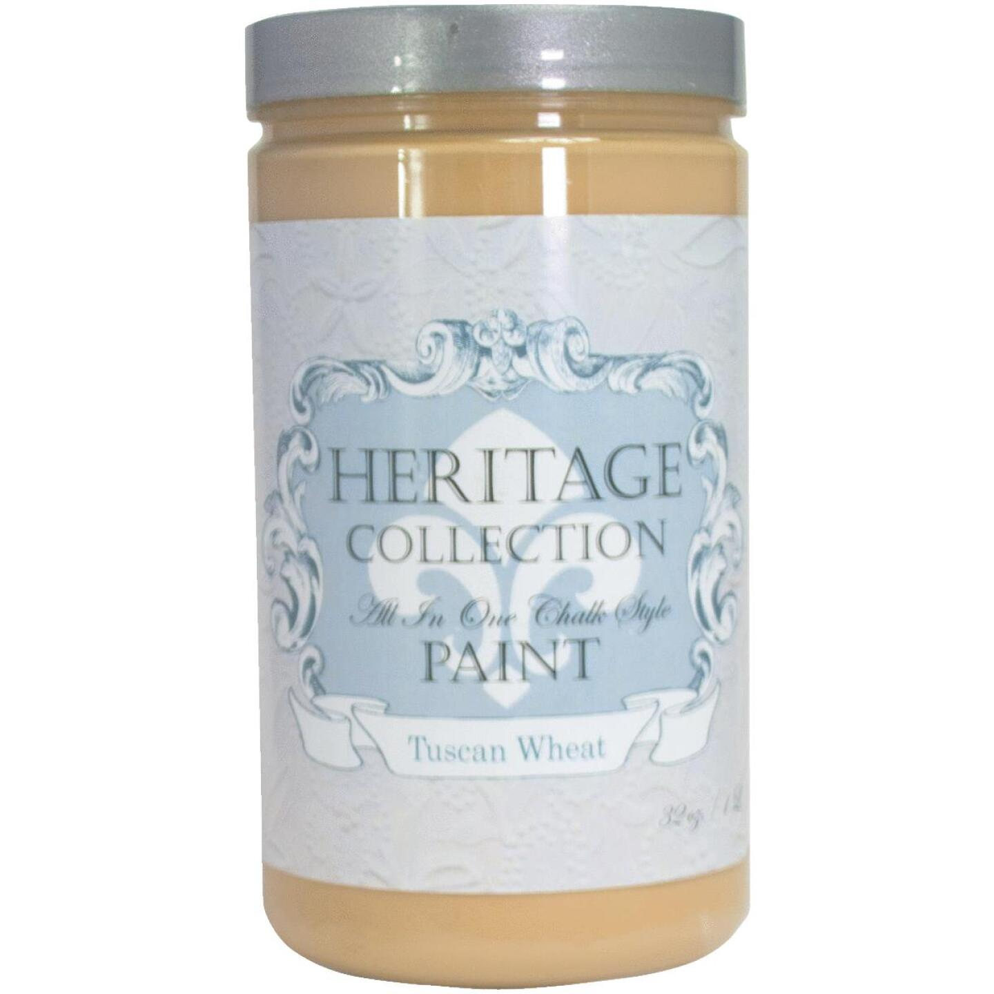 Heirloom Traditions Heritage Collection All-In-One Chalk Style Paint, Tuscan, 1 Qt. Image 1