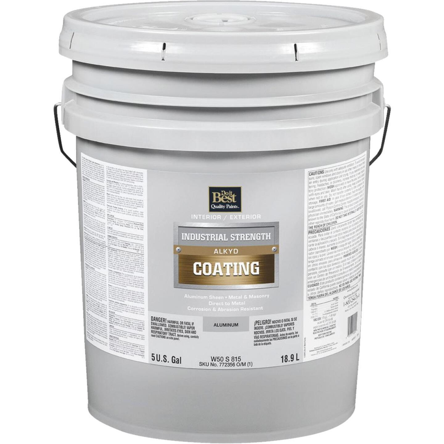 Do it Best Aluminum Alkyd Industrial Coating, 5 Gal. Image 1