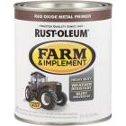 Rust-Oleum 1 Quart Red Oxide Metal Primer Gloss Farm & Implement Enamel Image 1