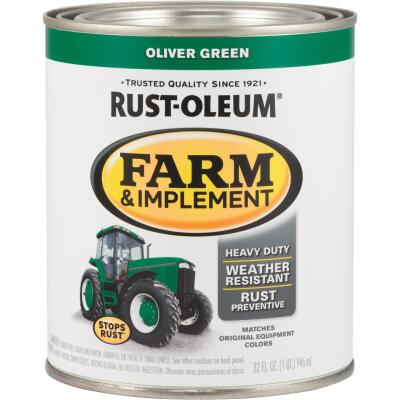 Rust-Oleum 1 Quart Oliver Green Gloss Farm & Implement Enamel