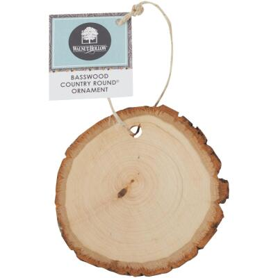 Walnut Hollow Basswood Country Rounds 2.25 In. to 3.5 In. Dia. Unfinished Wood Ornament