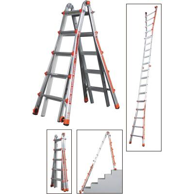 Little Giant Alta-One 22 Ft. Aluminum Multi-Position Telescoping Ladder with 250 Lb. Load Capacity Type I Ladder Rating