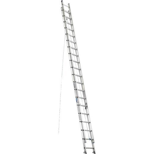 Werner 40 Ft. Aluminum Extension Ladder with 250 Lb. Load Capacity Type I Duty Rating