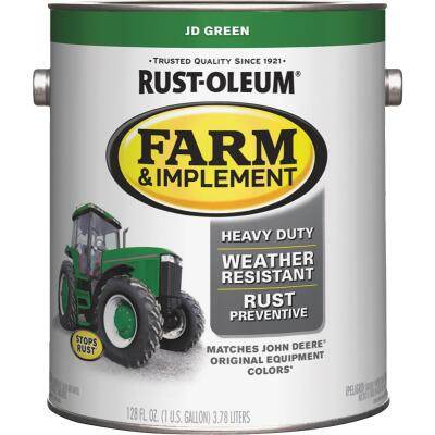 Rust-Oleum 1 Gallon JD Green Gloss Farm & Implement Enamel