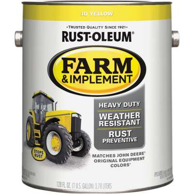 Rust-Oleum 1 Gallon JD Yellow Gloss Farm & Implement Enamel
