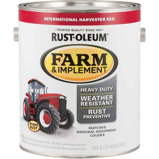 Rust-Oleum 1 Gallon International Harvester Red Gloss Farm & Implement Enamel
