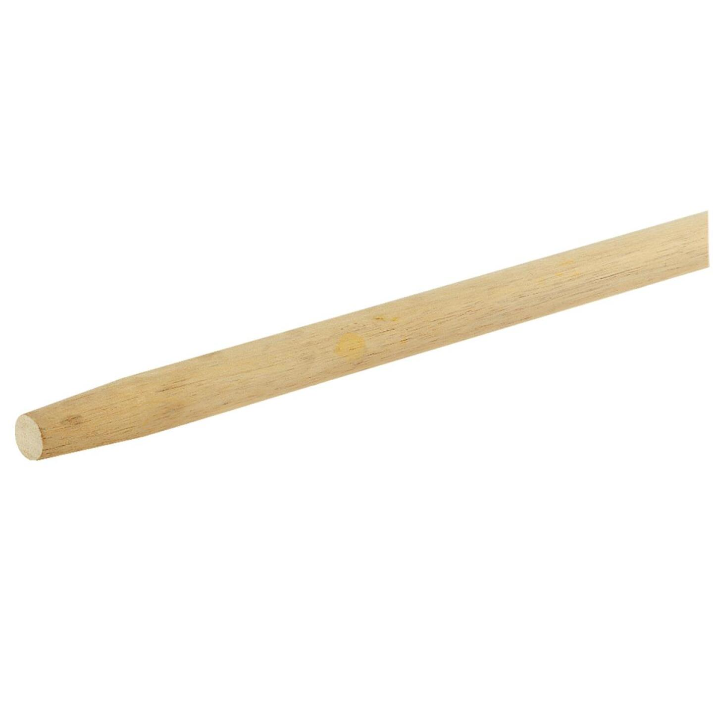 Waddell 48 In. Wood Tapered Broom Handle Image 1