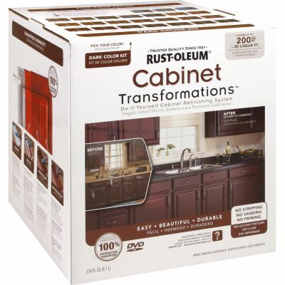 Rust-Oleum Transformations Dark Base Large Kit Satin Cabinet Coating Kit