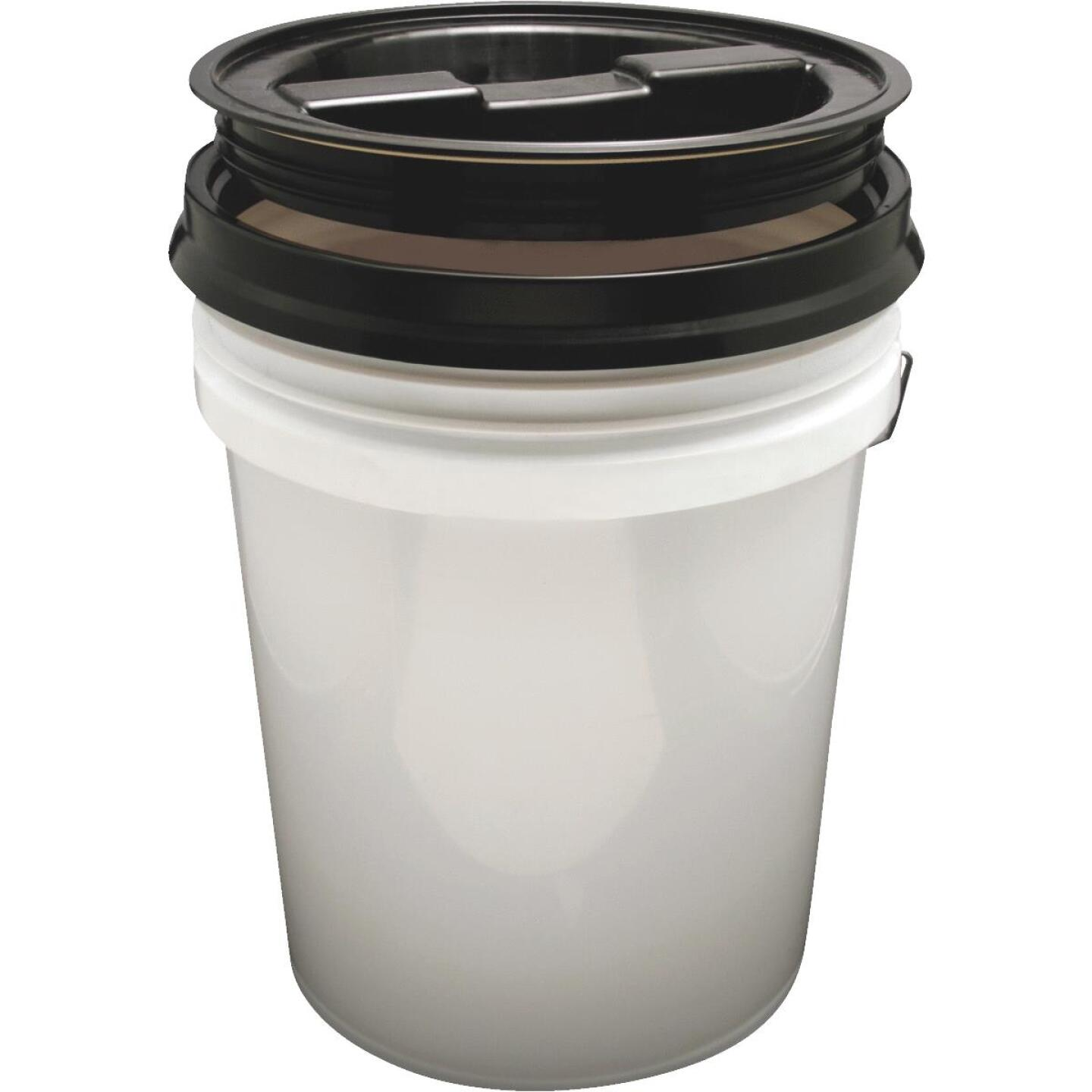 Leaktite 3.5 & 5 Gallon Pail Screw Top Lid Image 3