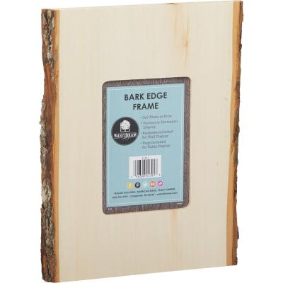 Walnut Hollow Bark Edge Unfinished Wood Picture Frame