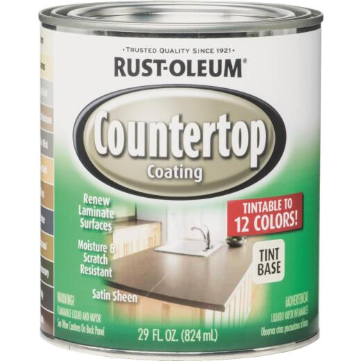 Rust-Oleum Tint Base Satin 25 Lf X 2 Ft Wide Counter Top Coating