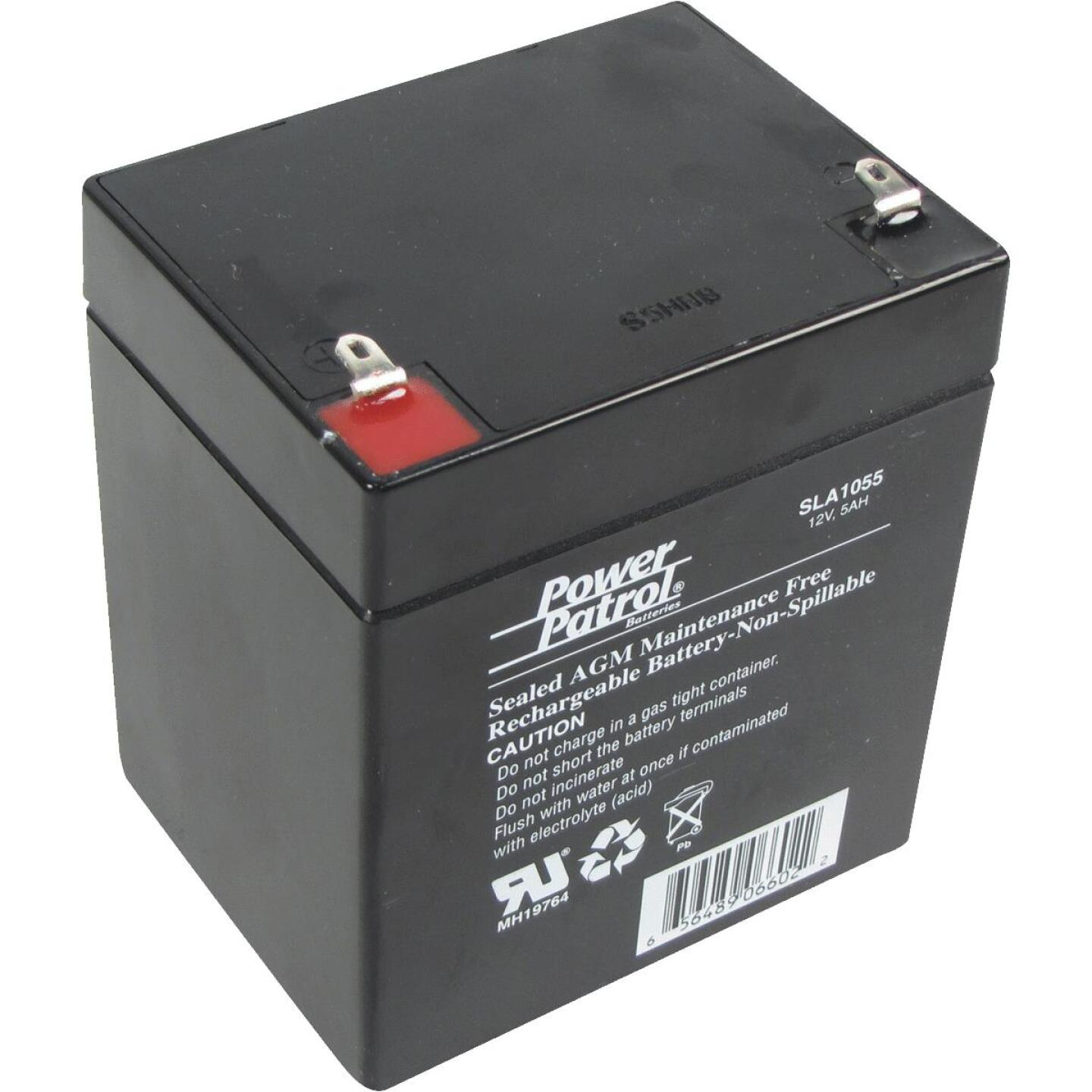 Interstate All Battery Power Patrol 12V 5A Security System Battery Image 1