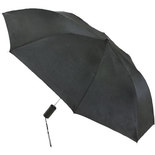 Chaby International 42 In. Black Autofold Umbrella