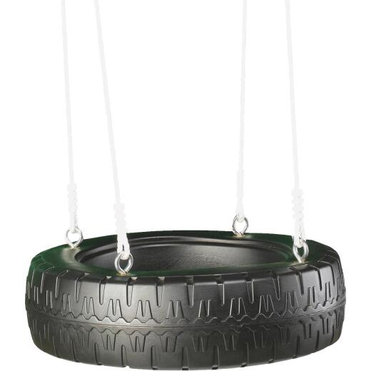 Swing N Slide Black Classic Tire Swing
