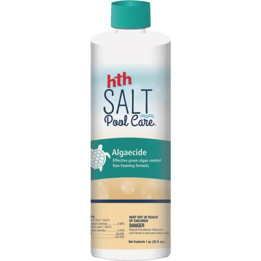 HTH Salt Pool Care 1 Qt. Liquid Algaecide
