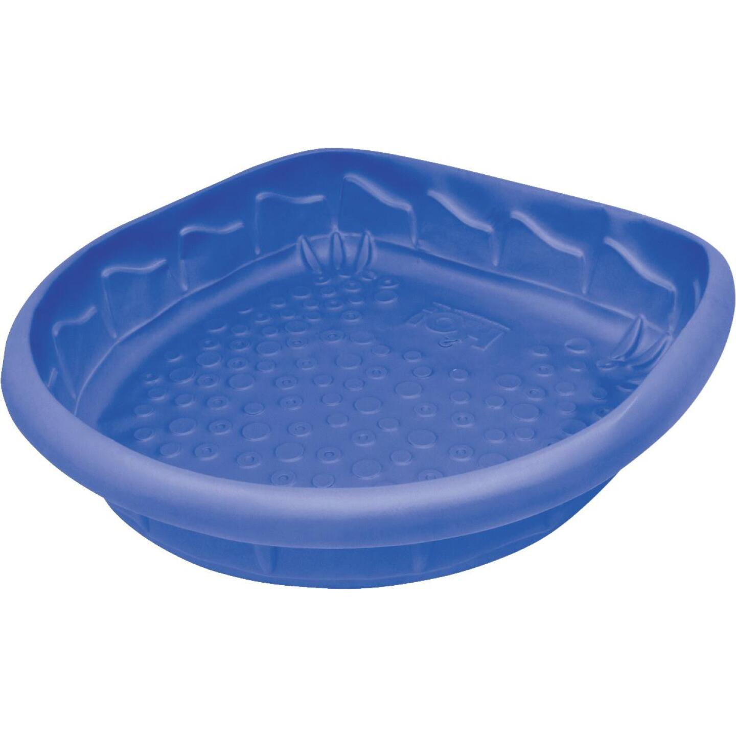 H2O 41 In. L. x 9 In. D. Blue Polyethylene D-Shaped Pool Image 1