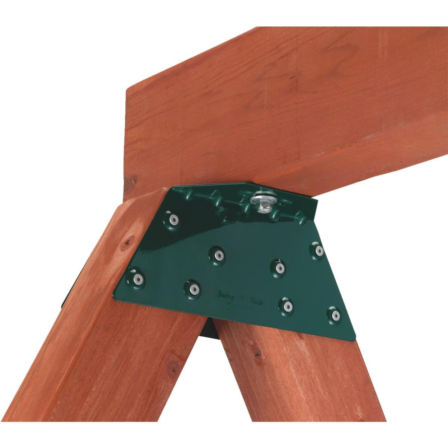 Swing N Slide EZ Frame Green Powder Coated Steel Angle Brace Image 1
