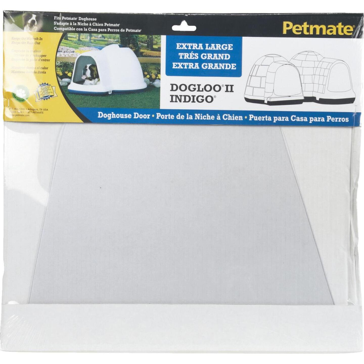 Petmate Indigo 17.5 In. x 17 In. XL Dog House Door Image 1