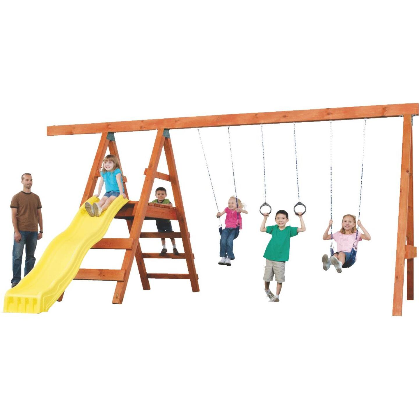 Swing N Slide Pioneer Swing Set Kit Image 1