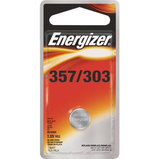 Energizer 357/303 Silver Oxide Button Cell Battery