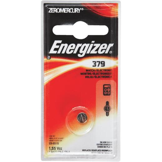 Energizer 379 Silver Oxide Button Cell Battery