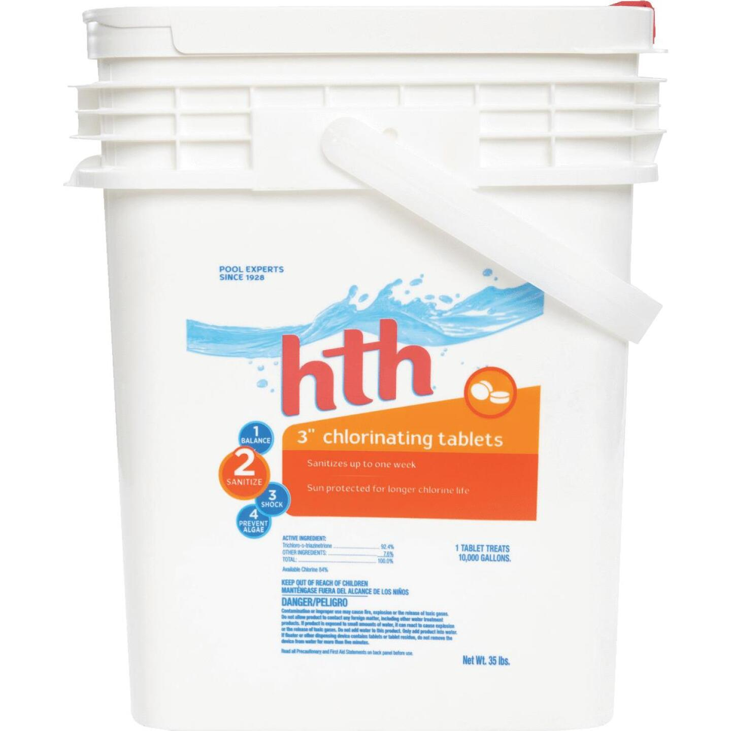 HTH 3 In. 35 Lb. Chlorine Tablet Image 1
