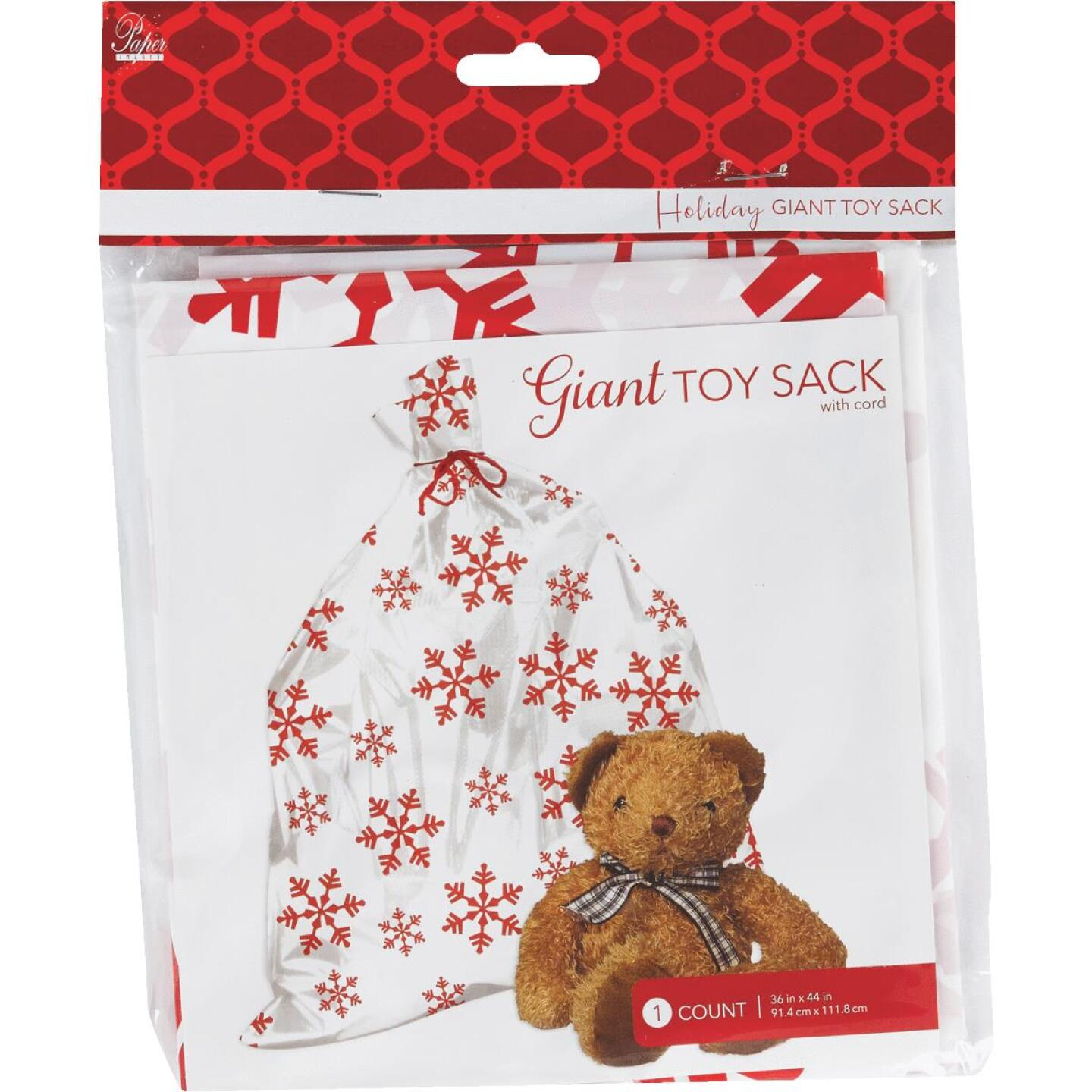Paper Images Giant Plastic Toy/Gift Sack Image 2