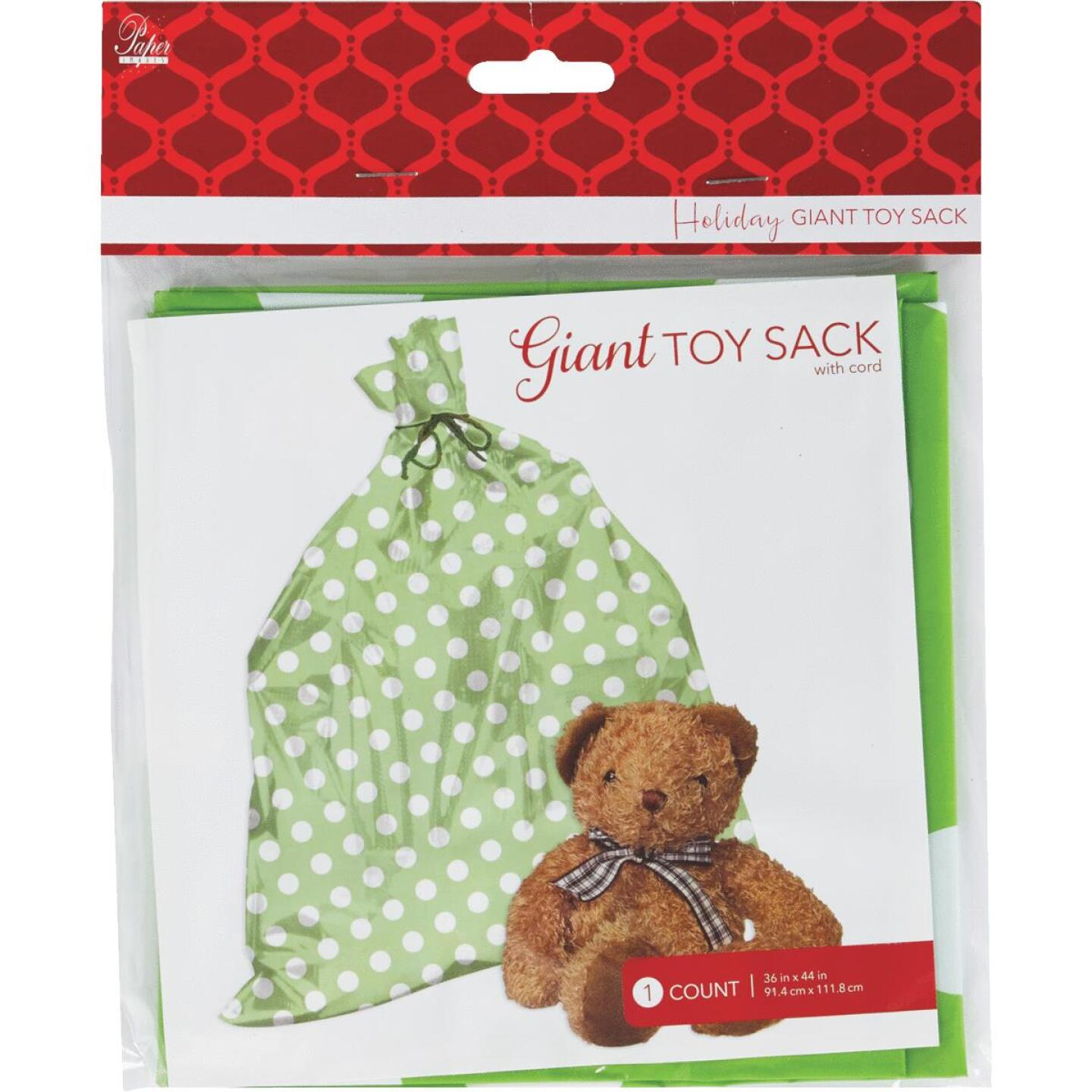 Paper Images Giant Plastic Toy/Gift Sack Image 3