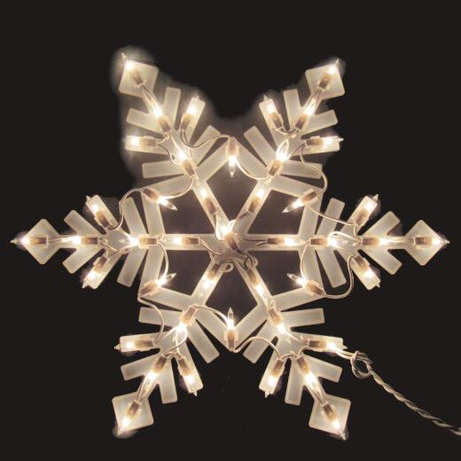 J Hofert 18 In. Incandescent Lighted Snowflake