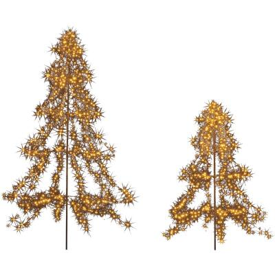 Lumineo 4.4 Ft. LED Multi Lighted Christmas Tree