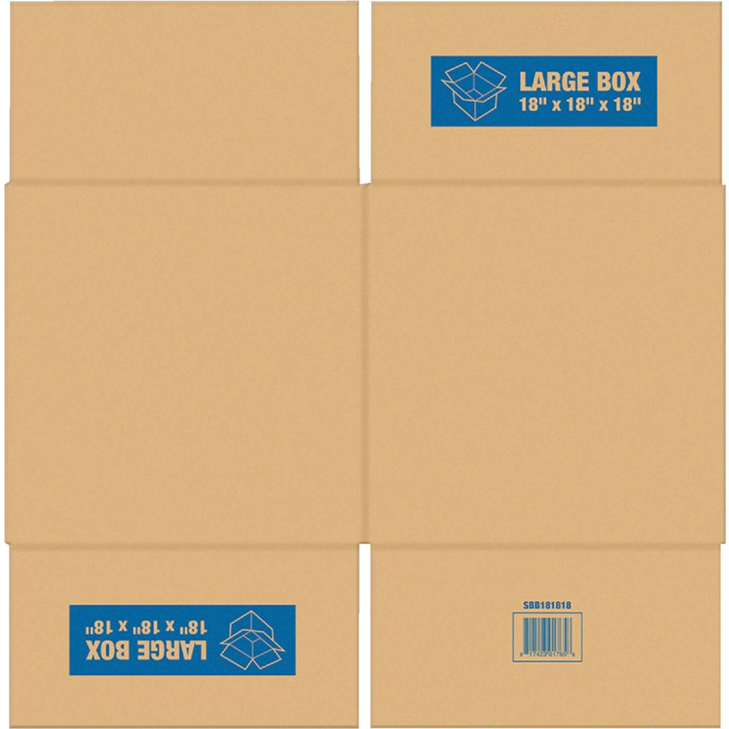 Square Built Large Moving Box Image 1