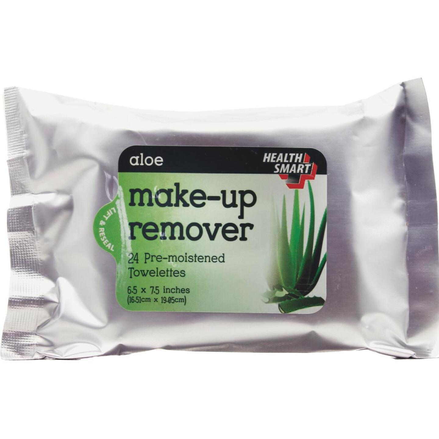 Health Smart Pre-Moistened Towelettes Make-Up Remover (24 Ct.) Image 1